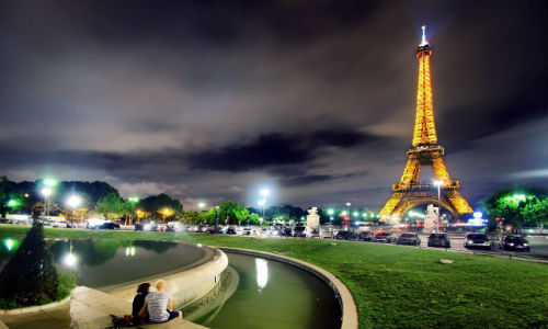 Paris-France-at-Night