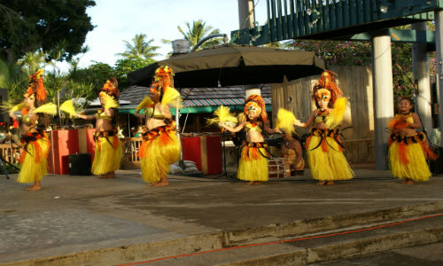 Dancers in Hawaii