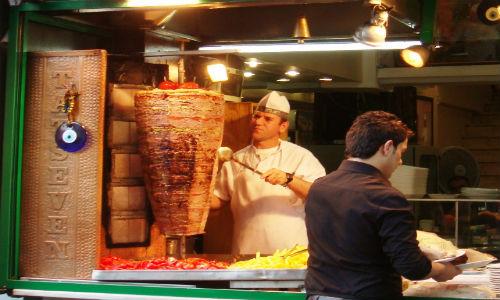 Doner kebab in Istanbul