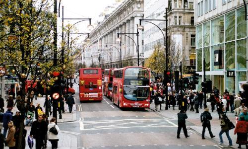 Oxford Street December 2006