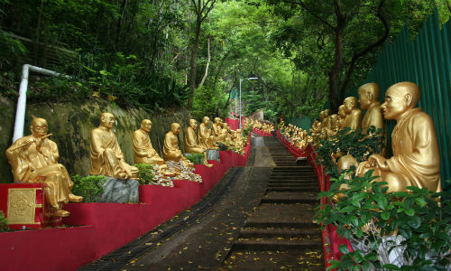 Ten-Thousand Buddhas Monastery