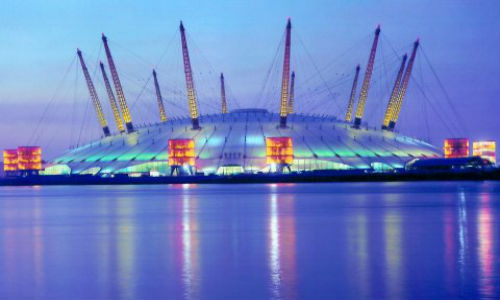 Millennium Dome at Dusk
